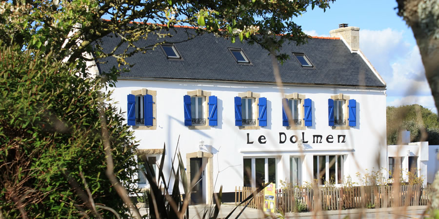 The bed and breakfast Le Dolmen in Finistere