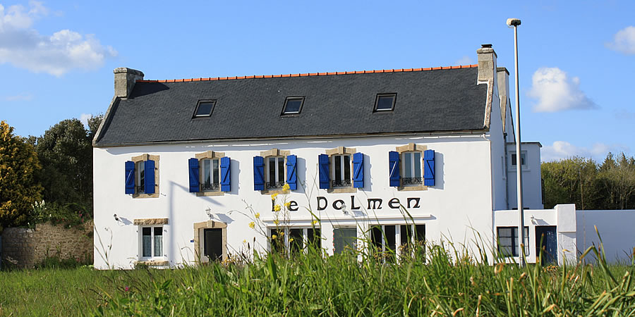 The guesthouse Le Dolmen in Finistere